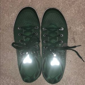 Green Nike Kobe shoes
